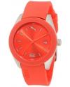 Women's Grip Analog Watch Silicone Strap Orange