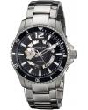 Men's Regatta Makran Automatic Skeleton Black Dial Watch