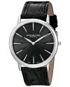 Men's Orchestra Swiss Quartz Ultra Slim Black Watch