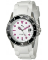 Women's Vaux Analog Display Japanese Quartz White Watch