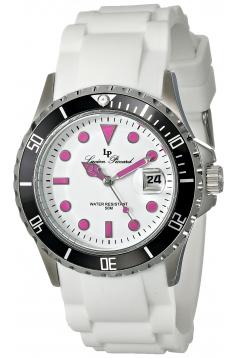 Women's Vaux Analog Display Japanese Quartz White Watch