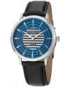 Men's Classic Winchester Colosseum Swiss Quartz Slim Blue Dial Watch
