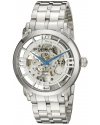 "Men's Classic ""Winchester 44 Elite"" Stainless Steel Automatic Skeleton Watch"