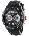 Men's Analog-Digital Display Analog Quartz Black Watch