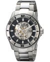 Men's Antilles Automatic Skeleton Stainless Steel Watch