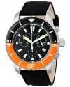 Men's Aquadiver Swiss Quartz Chronograph Date Black Watch