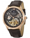 Men's Classic Winchester Tempest II Automatic Skeleton Dual Time Zone Rose Tone Watch