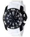 Men's 11876-TIB-01 Commander Titanium Analog Display Swiss Quartz White Watch
