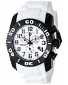 Men's 11876-TIB-02 Commander Titanium Analog Display Swiss Quartz White Watch