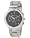 Women's KJLANE-2119  Chronograph Black Dial Stainless Steel Watch