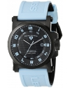 Men's Sportiva Analog Display Swiss Quartz Blue Watch