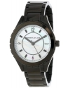 Women's Mother-Of-Pearl Dial Black Ion-Plated Stainless Steel Watch