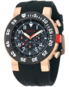Men's Chronograph Rose Gold-Tone Watch