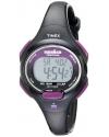 Women's Sport Ironman Black and Purple Mid Size 10 Lap Watch