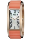 Women's Breakers Rose Gold-Tone Watch with Coral-Color Silicone