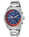 Vice City Edition Quartz Chronograph Stainless Steel Watch