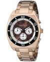 Men's Analog Display Japanese Quartz Rose Gold Watch