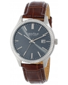 Men's Analog Display Japanese Quartz Brown Watch
