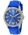 Men's Analog Display Japanese Quartz Blue Watch