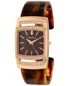 Women's Analog Display Japanese Quartz Brown Watch