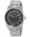 Men's Analog Display Japanese Quartz White Watch