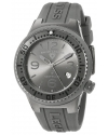 Mens Neptune Analog Display Swiss Quartz Grey Watch