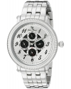 Men's  Potenza Analog Display Quartz Silver Watch