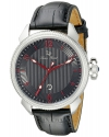 Men's Trevi Analog Display Japanese Quartz Black Watch