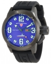 Swiss Legend Men's 10543-BB-03-BLK Submersible Violet Blue Dial Watch