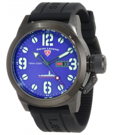 Men's Submersible Violet Blue Dial Watch