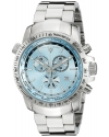 Men's World Timer Chronograph Stainless Steel Watch