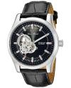 Men's Morgana Analog Display Mechanical Hand Wind Black Watch
