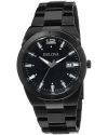 Men's Classic Analog Display Japanese Quartz Black Watch