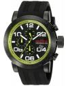 Men's  Night Rally Analog Display Quartz Black Watch