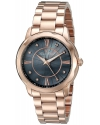 Women's Balarina Analog Display Quartz Rose Gold Watch