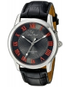 Men's Olympus Analog Display Quartz Black Watch