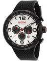 Men's Apex 12 Analog Display Japanese Quartz Black Watch