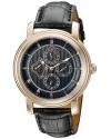 Men's Valarta Analog Display Quartz Black Watch