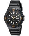 Casio Men's MRW200H-1EV Dive Watch with Black Band