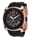 Men's The General Analog Display Swiss Quartz Black Watch