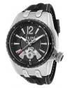 Men's Genesis Vision Analog Display Swiss Quartz Black Watch