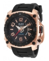 Men's The General Analog Display Swiss Quartz Black Watch