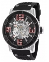 Men's Spirit Analog Display Automatic Self Wind Black Watch