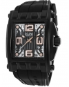Men's Captain Analog Display Swiss Quartz Black Watch