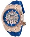 Men's Genesis Prime Analog Display Automatic Self Wind Blue Watch