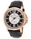 Men's Triomf Analog Display Quartz Black Watch