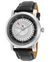 Men's Ruleta Analog Display Quartz Black Watch