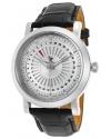 Men's Ruleta Analog Display Quartz Black Watch