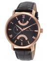 Men's  Verona Analog Display Quartz Black Watch