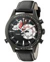 Men's Intelligent Quartz Collection Analog Display Quartz Black Watch